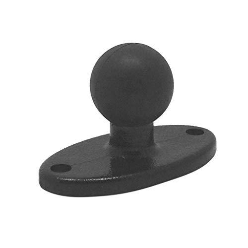 FangWWW Gummi-Kugelkopf-Halterung, kompatibel für Ram-Halterungen, kompatibel für GoPro Kamera Smartphones, Verlängerungsarm kompatibel für Garmin ZUMO Plattenzubehör