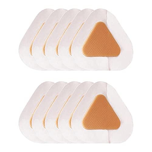 oshhni 10X Adesivi per Il Tallone Protezione per Il Tallone Imbottiture per Cuscino Adesivo Inserto per Scarpe Da Uomo