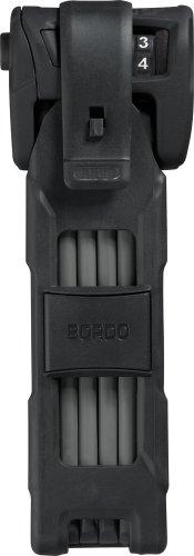 Abus Faltschloss Bordo Combo 6100/90, Black, 90 cm, 51796 & Faltschloss Bordo Combo Lite 6150/85, Black, 85 cm, 51799 - 3