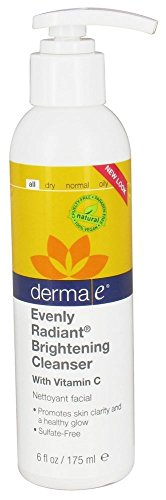 derma e Evenly Radiant Brightening Night Creme with Vitamin C Nighttime
