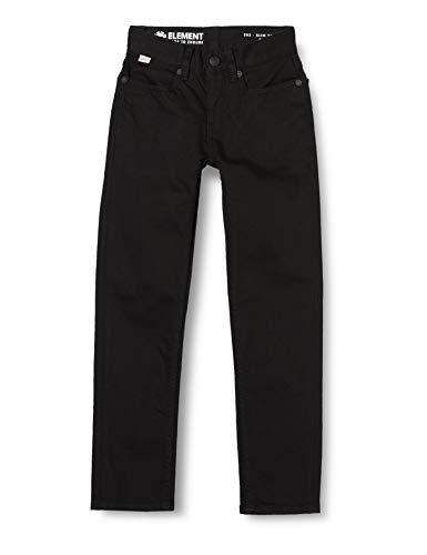 Element E02 Color Boy T-Shirts, Chemises et Polos Garçon, Flint Black, FR : L (Taille Fabricant : 12)