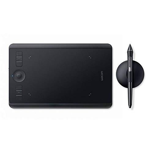 Wacom Intuos Pro Grafiktablett (Größe: S)/Kleines, professionelles Stifttablett (inkl. Wacom Pro Pen 2 Eingabestift mit Ersatzspitzen, geeignet für Windows & Mac) - Ideal für Home-Office & E-Learning