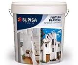Pintura mate Interior/exterior,blanco lavable,buena cubricion.24kg
