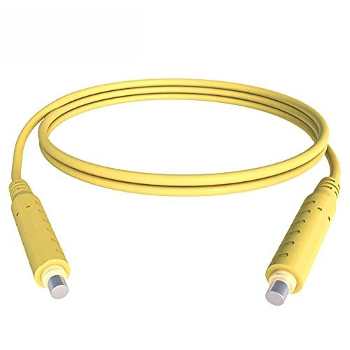kit de prueba de plomo Cable HVAC Cable de prueba magnético 30V 5A Puente magnético de bajo voltaje 20AWG Cable de silicona 1M - Amarillo kit de multímetro