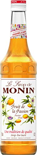 Monin Fruit de la Passion (sin alcohol) - 3 Paquetes de 3 x 233.33 ml - Total: 2100 ml