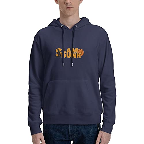 Rononand Slam Dunk Cotton Hoodies Oversized Clothes Adult Hoodies Suitable For Traveling/Home/Outdoor 3XL
