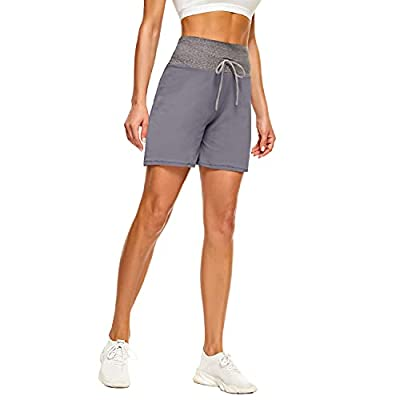 """QGGQDD 5"""" Casual Shorts for Women – Workout Yoga Lounge Summer Pajama Bottoms Athletic Shorts"""