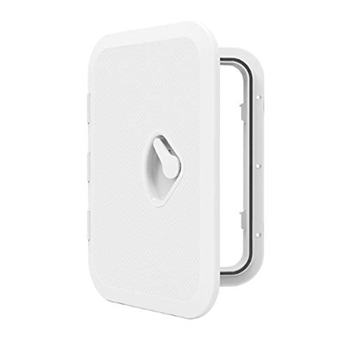 Great Deal! Durable Marine Boat Deck Access Hatch&lid 14.8 X 10.6 - White 270mm X 375mm,Access H...