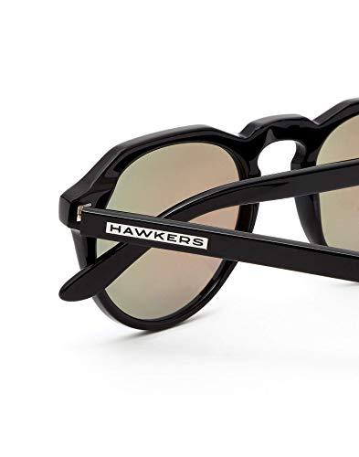Hawkers Warwick X · Diamond Black · Clear Blue Occhiali da Sole, Nero (Nero), 5.0 Unisex-Adulto