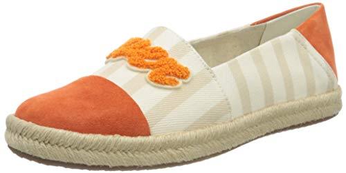 Geox D Modesty A, Espadrilles Femme, Beige (Sand/Orange C0704), 41 EU