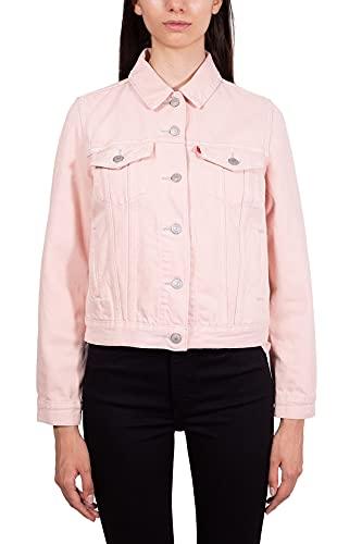 Levi's - Damen-Jeans Slim aus Baumwolle und Hanf., Rosa, Medium
