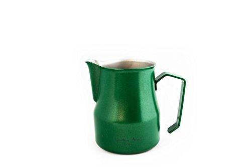Dritan Alsela professionale Bricchetto per latte, antiaderente, lattiera verde 500ml