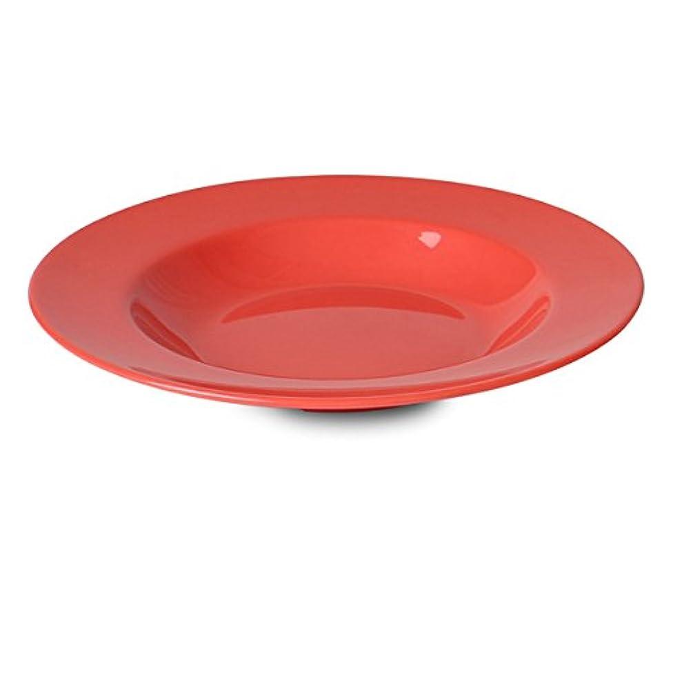 Yanco MS-5809RD Mile Stone Pasta Bowl, 13 OZ Capacity, 1.25
