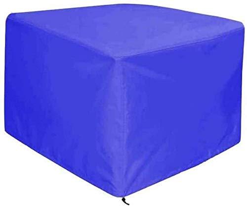 Fundas para muebles de jardín 0.7x0.7x1m, Funda para muebles de patio, Juegos de mesa y sillas para exteriores Lona protectora A prueba de polvo Impermeable Protección solar al aire libre 28 Tamaños