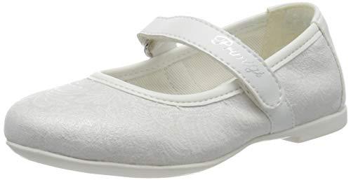 PRIMIGI Mädchen Ballerina PRIMI PASSI Bambina Ballerinas, Weiß (Bianco/Bianco 5418200), 22 EU