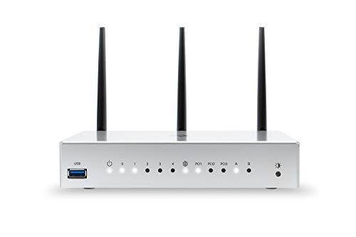 Turris Omnia 2020 | 2 GB RAM, hi-Performance, Open Source & WiFi/NAS/printserver/Virtual Server, CPU 1.6 GHz dual-core, 5X GLAN, 2X USB 3.0