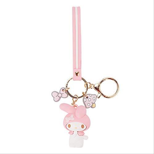 Cartoon Cute Hello Kitty Puppe Kt Katze Schlüsselanhänger Frauen Mädchen Charm Taschen Schlüsselanhänger Zubehör Anhänger Auto Neuer Schlüsselring 2019 rot