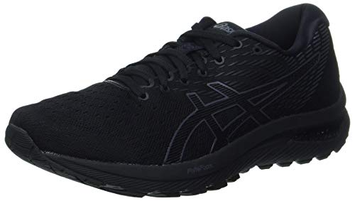 ASICS Herren Gel-Cumulus 22 Laufschuh, Black Carrier Grey, 46.5 EU
