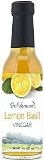 Dr. Fuhrman's Lemon Basil Vinegar