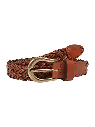 ONLY dames riem ONLHANNA BRAIDED LEATHER JEANS BELT