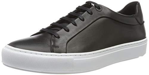 LLOYD Herren AKIM moderner Sneaker, Schwarz (Schwarz 0), 44 EU