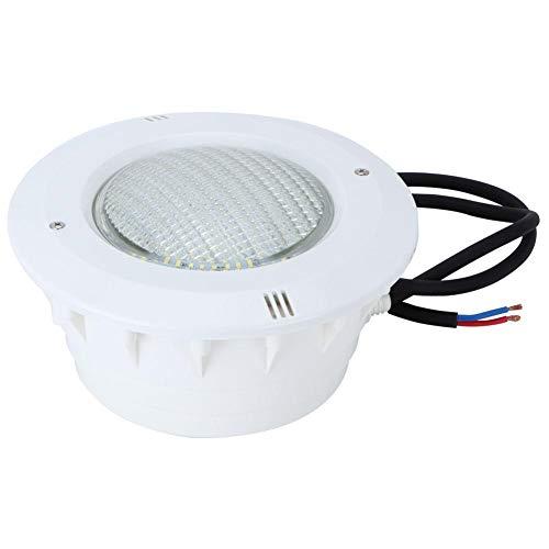 Jacksking Unterwasserlampe, 35W LED im Freien Unterwasserlampe Schwimmbad Wandleuchte IP68 wasserdichte Scheinwerfer Flutlicht für quadratische Brunnen
