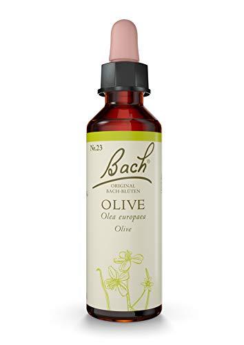Original Bachblüten Tropfen Nr. 23 Olive: Achtsamer mit sich selbst umgehen mit der Bach-Blüte Ölbaum, 20ml