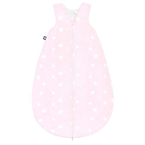 Julius Zöllner Schlafsack Sommerschlafsäckchen Sternenhimmel rosa 70 cm
