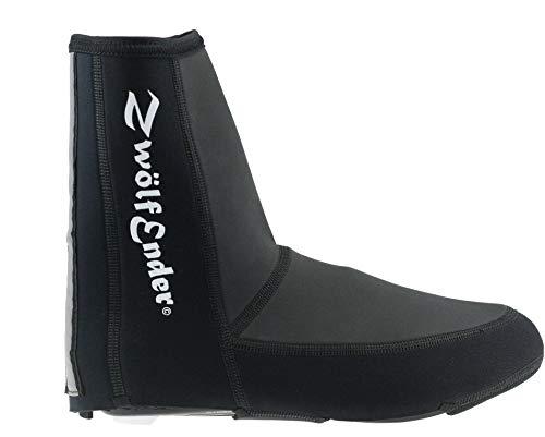 Zwölfender Basic 2 Black Negro cubrezapatillas con Velcro,...