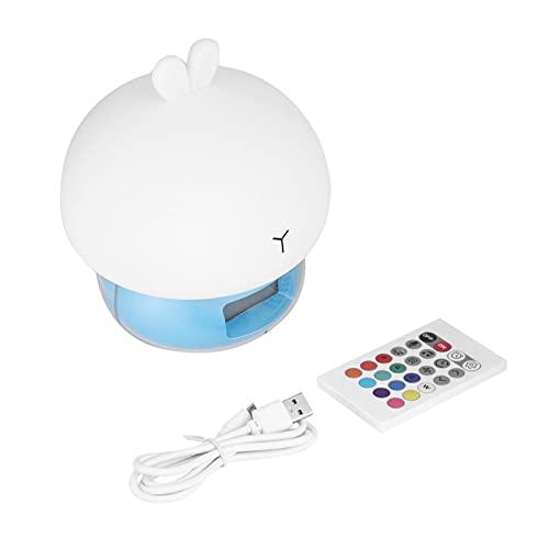 Vipxyc Luz de Silicona LED de 7 Colores, Hecha de Material de Silicona, Resistente y Duradera, Gran luz Nocturna para Dormitorio o Sala de Estudio(Simple Style)
