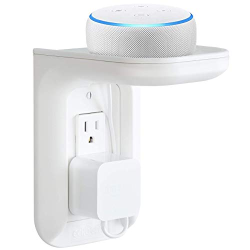 Made for Amazon Outlet Shelf for Amazon Echo Devices - White
