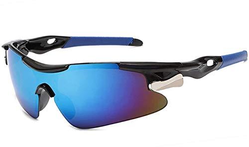 Gafas De Bicicletas Deportes Hombres Gafas De Sol Gafas De Sol Bicicletas Montaña Ciclismo Protección De Montañas Gafas Gafas Eyewear MTB Bike Gafas De Sol RR7427 Vidrios De Ciclismo (Color: Azul)