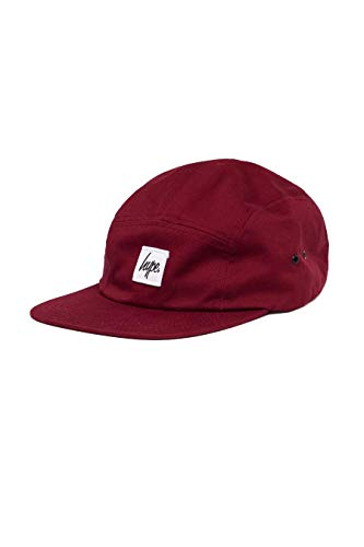 Hype 5-Panel-Cap Burgundy Script
