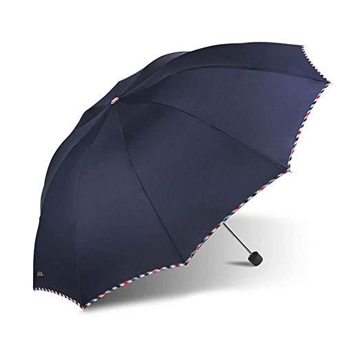 Paraguas - Marco Reforzado a Prueba de Viento, Compacto...