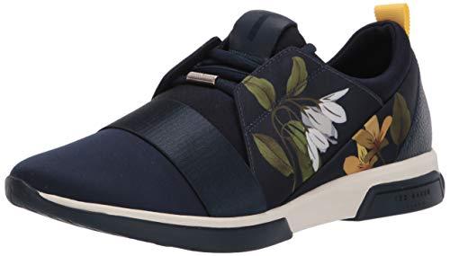 Ted Baker Women's cepaps Sneaker, Dark Blue, 8 M US