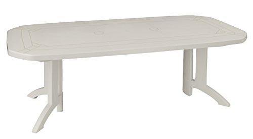 GROSFILLEX Vega Mesa, PVC, Blanco, 220 x 100 x 72 cm