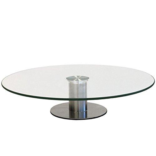Piatto torta girevole Ø30cm alzata per torta in vetro