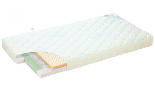 Alvi Kinderbett Matratze Mia 70x140 cm - mit viskoelastischen Memoryschaum
