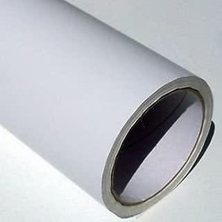 Rollo de papel de vinilo adhesivo (5 m x 61 cm), color blanco mate, de Uber-Film: Amazon.es: Oficina y papelería