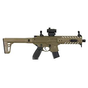 Sig Sauer MPX-MRD-177-FDE MPX Airgun Pellet Rifle .177 Cal 88gr