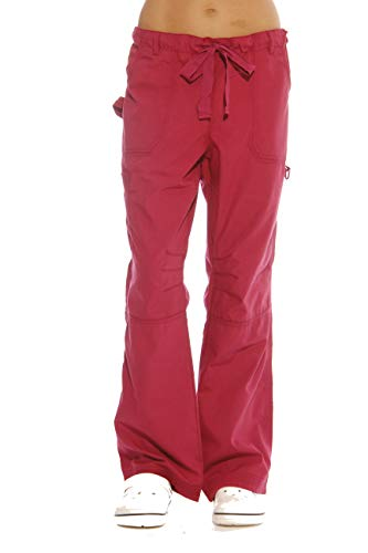 24000PBUR-XS Just Love Women's Utility Scrub Pants / Scrubs, Burgundy Utility, X-Small