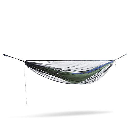 ENO, Eagles Nest Outfitters Guardian SL Bug Net, Hammock Bug Netting, Charcoal