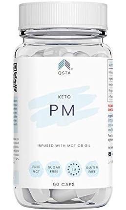 Keto Plus Actives PM (60 CAPS) - Quemagrasas potente y rapido, Quema grasas mientras duermes & Mejora tu sueño REM - PERSONALIZADO + MEDICOS