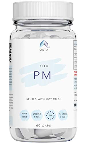 Keto Plus Actives PM+ (60 CAPS + 45 TIRAS) - Keto Rapido Noche, Funciona Sin Deporte, Keto Light o Low-Carb, Sin Aditivos, 100% Natural + Ebook Recetas + Servicio Personalización