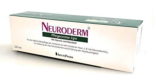 NEURODERM Pflegecreme Lipo Basispflege der sehr trockenen Haut, 250 ml Creme