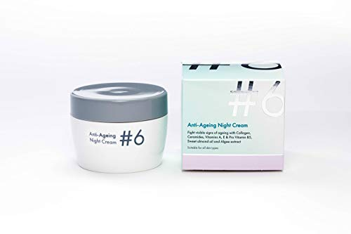 #6 Anti Ageing Night Cream Vitamins A & E and pro-Vitamin B5 Fights Collagen