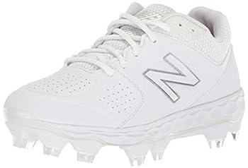 New Balance Women s Fresh Foam Velo V1 TPU Molded Softball Shoe White/White 9 M US