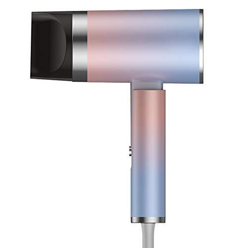 Secador de pelo profesional de 1250 W iones negativos secador de pelo con difusor secador de pelo con 2 velocidades, 3 calentadores y 1 botón de frío, Aurora, 1250 W