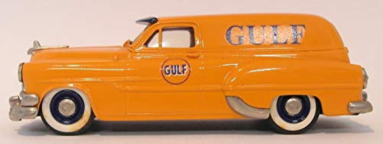 Brooklin 1 43 Scale BRK31 005A  1953 Pontiac Sedan Delivery Gulf orange
