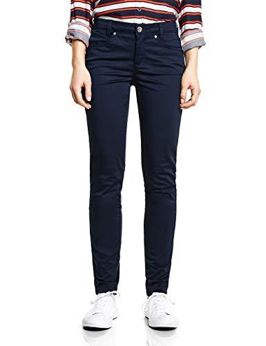 Street One 372068 Yulius Pantaloni, Blu Profondo, 38W x 30L Donna